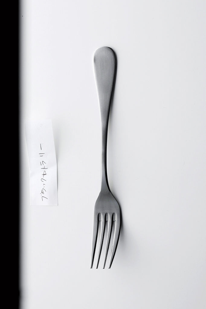 Black cutlery dessert fork 1 case 5 pieces