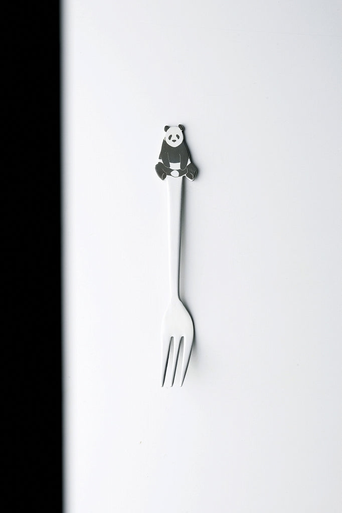 Animal Cutlary Zoo Panda Fork [Japanese] 1 case 5 cases