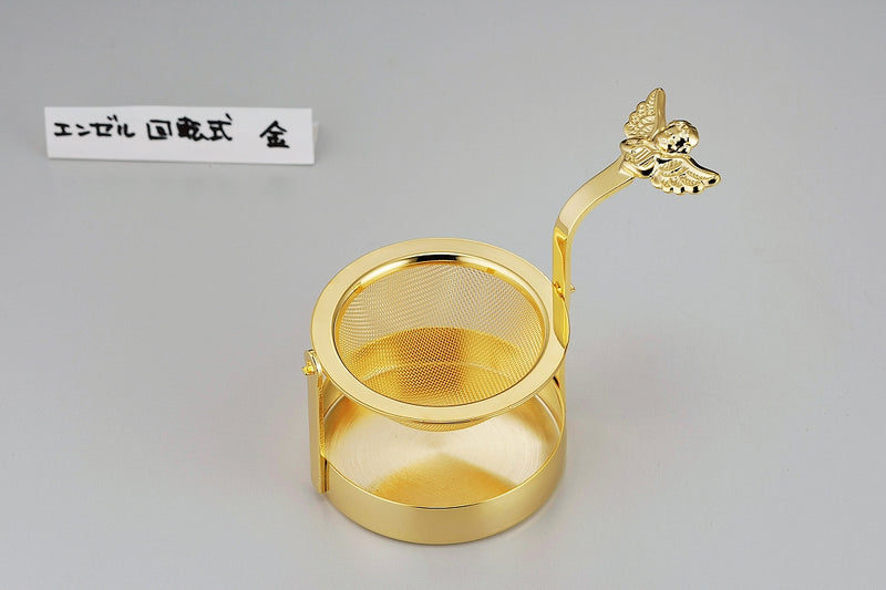 Angel rotating tea trainer Gold [made in Japan] one set of cases