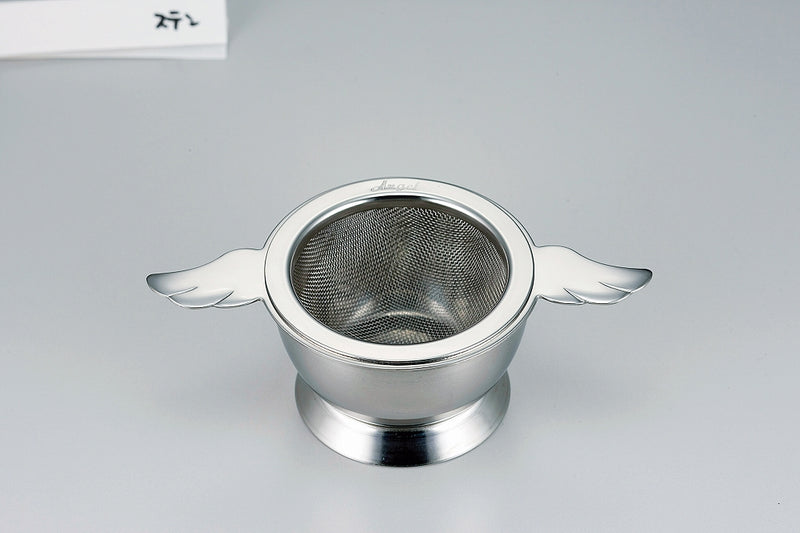 Angel Tea Strainer Stainless Steel [Made in Japan] 1 case 1 set