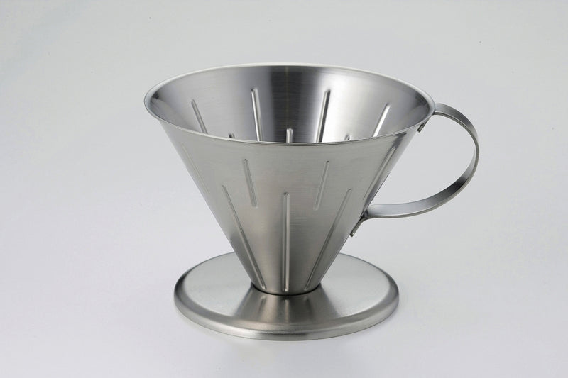 Stainless coffee dripper L satin [made in Japan] 1 case