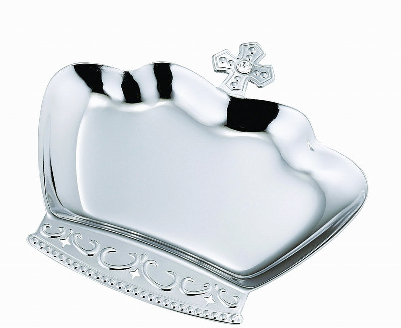 Crown Tray Silver Clear [Made in Japan] 5 pairs per case