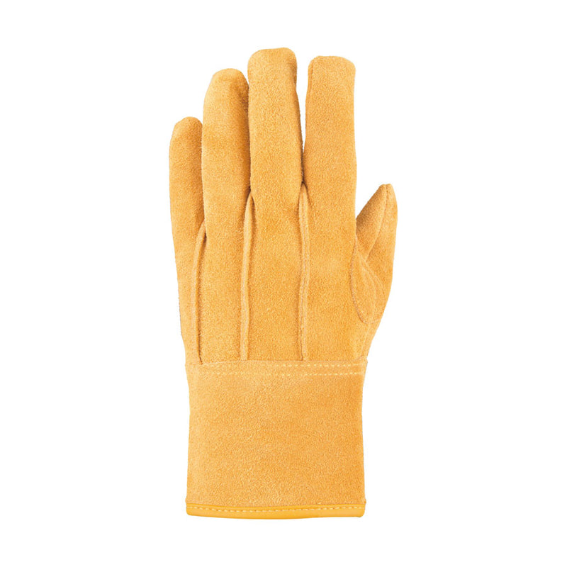 Class outdoor software leather glove yellow M [CAPTAIN STAG] one case one