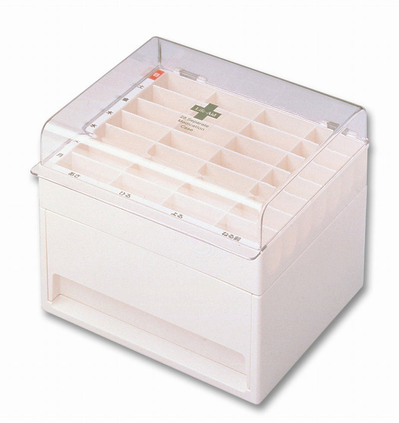Clear stock case Ivory