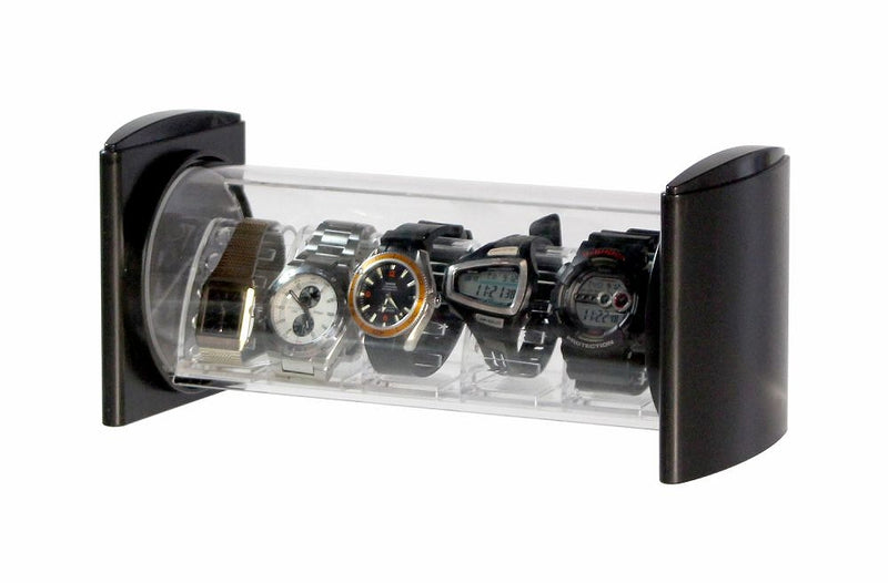 Collector's Watch Stack Black 1 Case 4pcs