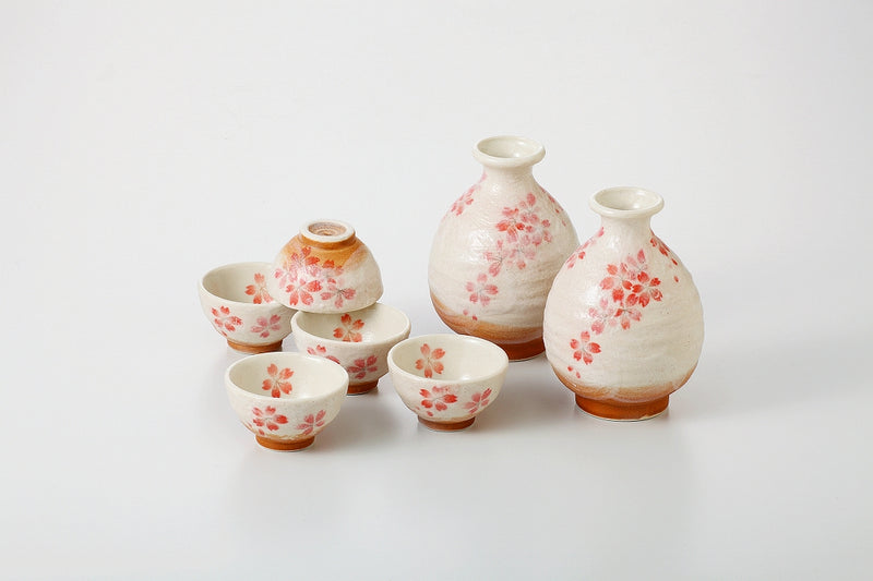 Heian sakura sake bowl 1 case 1 set