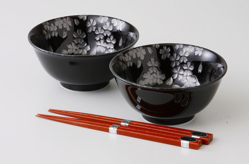 Class one case of 銀彩桜反 5.0 bowl pair one