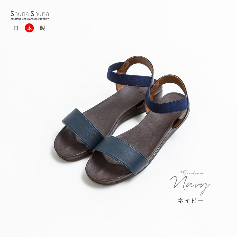 Rubber Strap Sandals Made in Japan / Shoes Women's Shoes Women's Shoes 1 pair