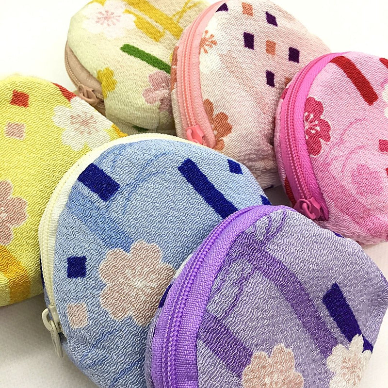 Cherry Blossom Small Town Pouch, assorted 6pcs, set of 6