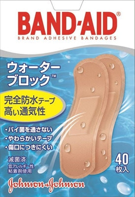 Band-Aid First Aid Adhesive Bandage Water Block [Johnson & Johnson] [Adhesive Bandage] 36 pieces per case