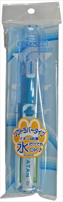 PT-2 Potatan Portable for 0 years old and above Ion & antibacterial type Usually [Kawanishi Shoji] [Toothbrush] 90 pieces per case