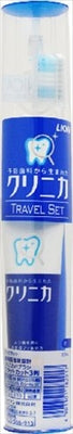 Clinica Travel Set 1 set [Lion] [Toothbrush] 1 case 120 pieces