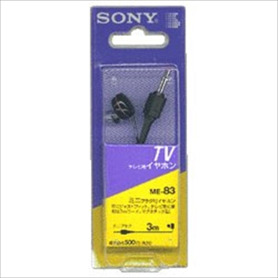 Earphone 3M ME-83 [Sony] [Charger / SD / Mobile] 1 case 100 pieces