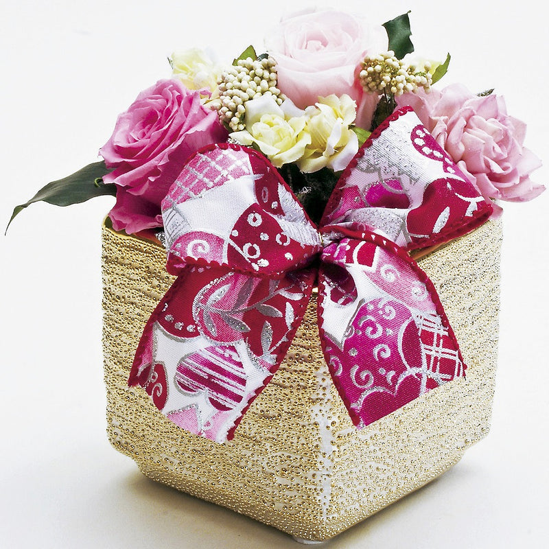 Priza Arrangement Ribbon Box [Rose] [Gift