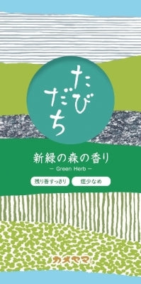 Tabidachi: Fresh green forest scent [Kameyama] [Incense stick] 80 pieces per case