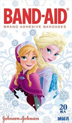 Band-Aid First Aid Adhesive Bandage Anna and the Snow Queen [Johnson & Johnson] [Adhesive Bandage] 72 pieces per case