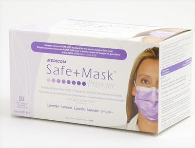 Safe Mask Premier Lavender [AR Medicom] [Mask] 1 case 10 pieces