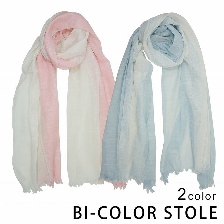 Stole Men's Womens Cotton 50% Spring/Summer Bicolor Keys 1 pair