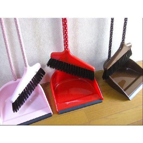 Dot Bloom & Dustpan [Broom] [Dustpan