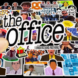 50Pcs The Office Stickers