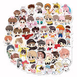 40pcs Cute Cartoon Kpop Stickers
