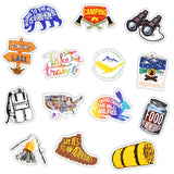 50Pcs Adventure Camping Travel Stickers