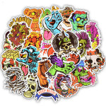 50Pcs Terror Series Sticker