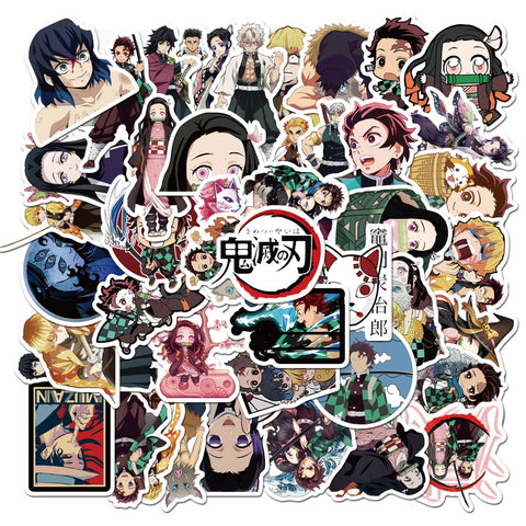 Demon Slayer: Kimetsu no Yaiba Stickers