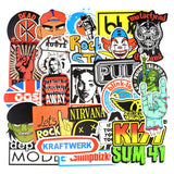 100Pcs Rock Stickers