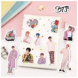 40Pcs Kpop Bangtan Boys BTS Stickers