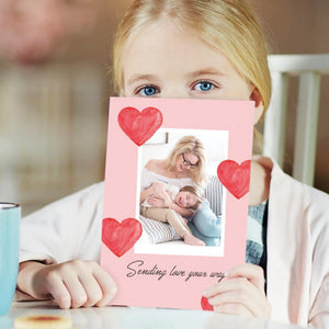 Mother's Day Gifts Cutsom Greeting Card - Send Your Love