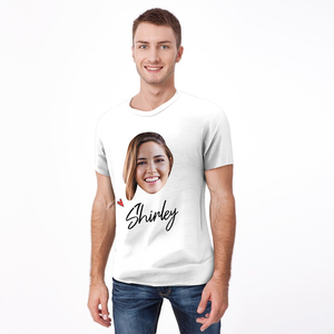 Custom Face T-shirt with Name