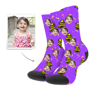 Custom Best Sister Socks