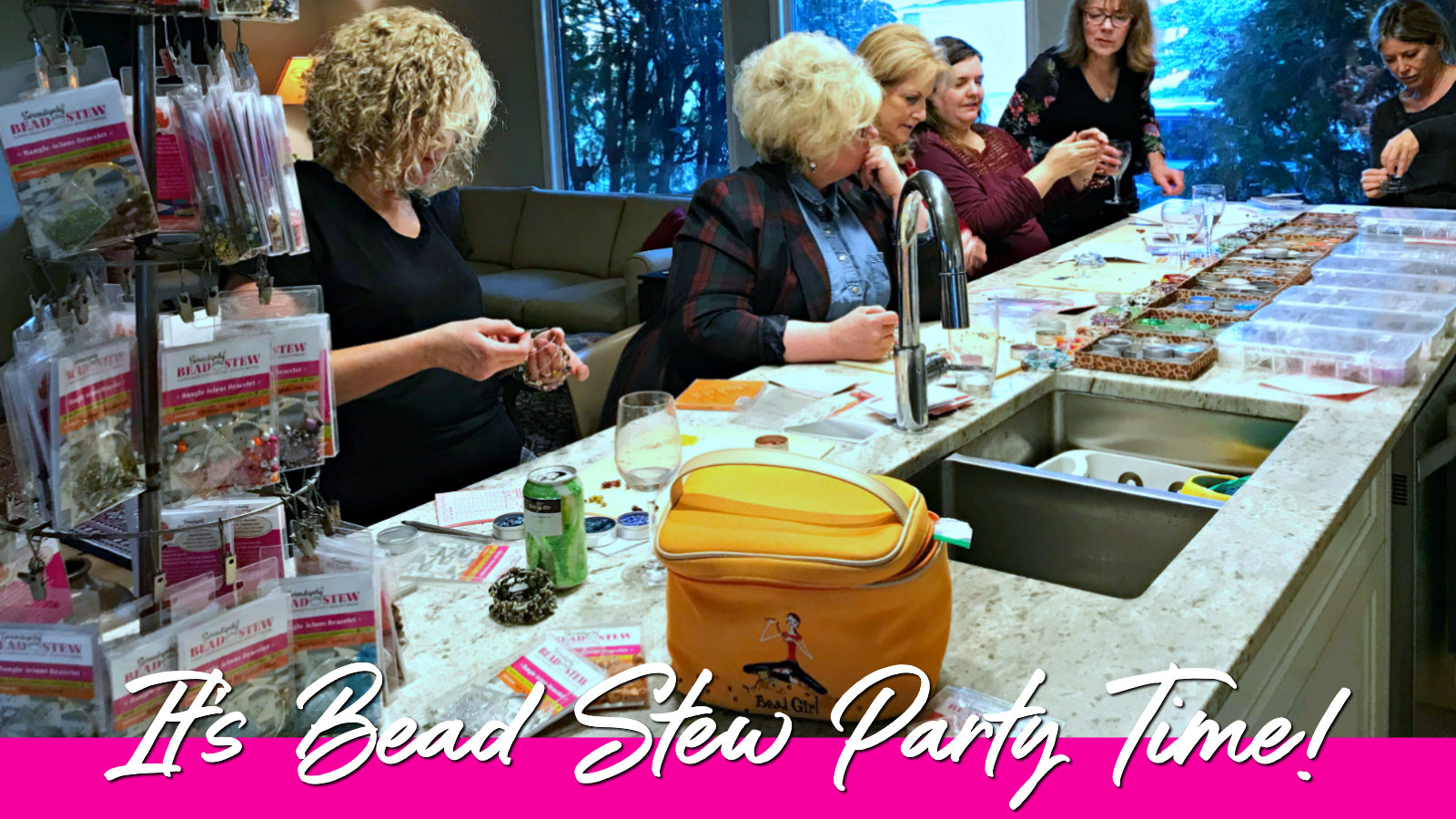 Being creative feels good, so Suzie Q Studio BEAD STEW Jewelry-Making Parties make the perfect get-together for any occasion!