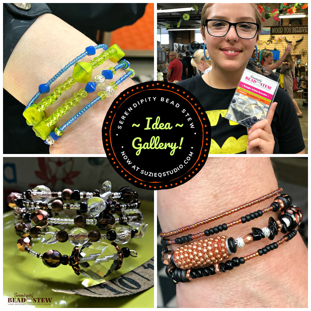 Suzie Q Studio is offering our BEAD STEW DIY bracelet-making class at A&B Fiberworks at the Crossroads Market in Calgary. We use our easy to use Serendipity BEAD STEW jewelry-making kits so no experience is necessary. Register at suzieqstudio.com.