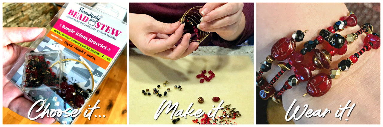 "Suzie Q Studio BEAD STEW Jewelry-Making Party review: ""What a wonderful experience! So fun to get creative!"""