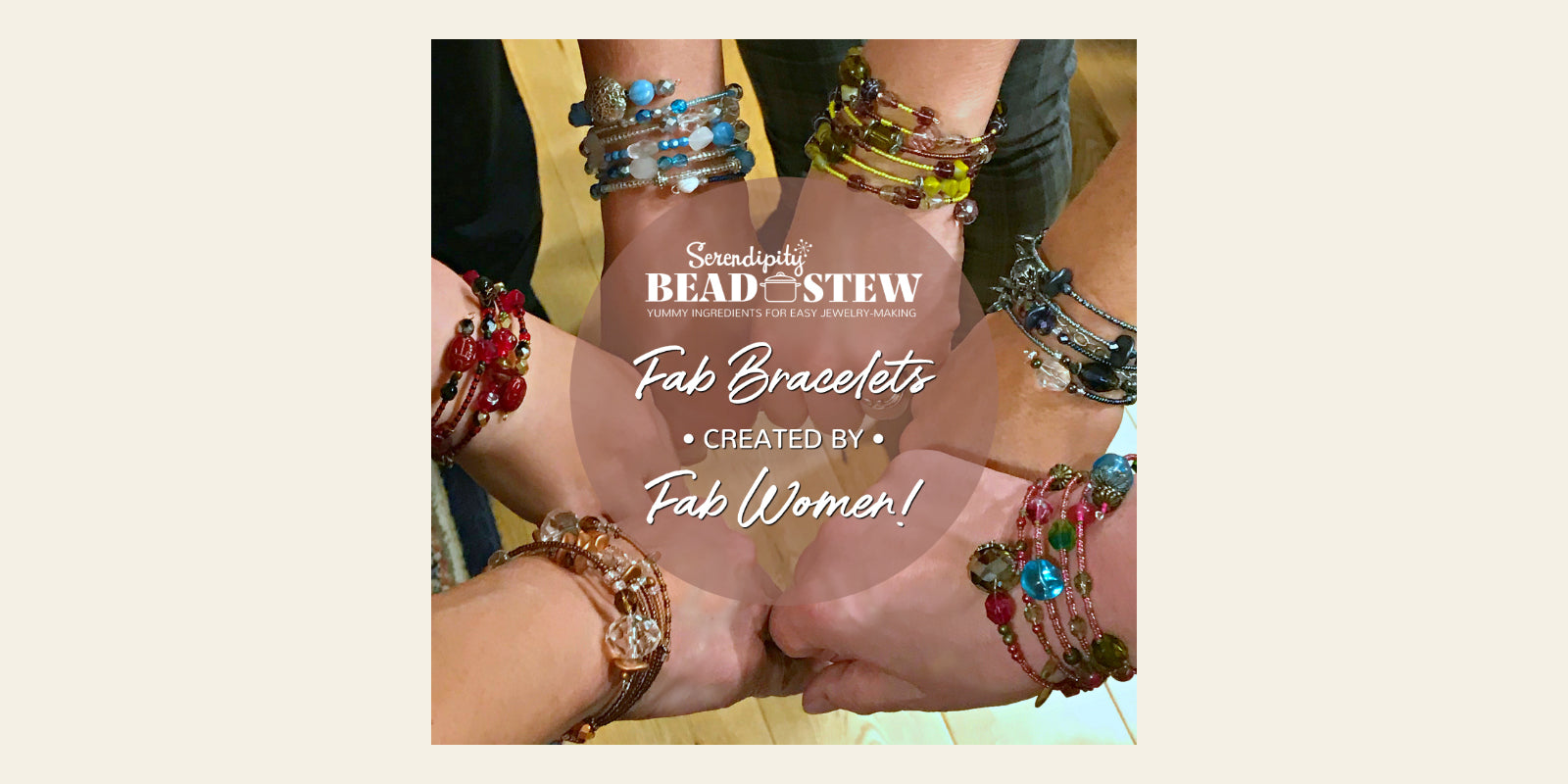 Being creative feels good, so Suzie Q Studio BEAD STEW Jewelry-Making Parties make the perfect get-together for any occasion! Whether you choose to have a theme for your bracelet-making party or not, you'll create a one-of-a-kind bangle-style bracelet that will be a reminder of the wonderful time you shared.