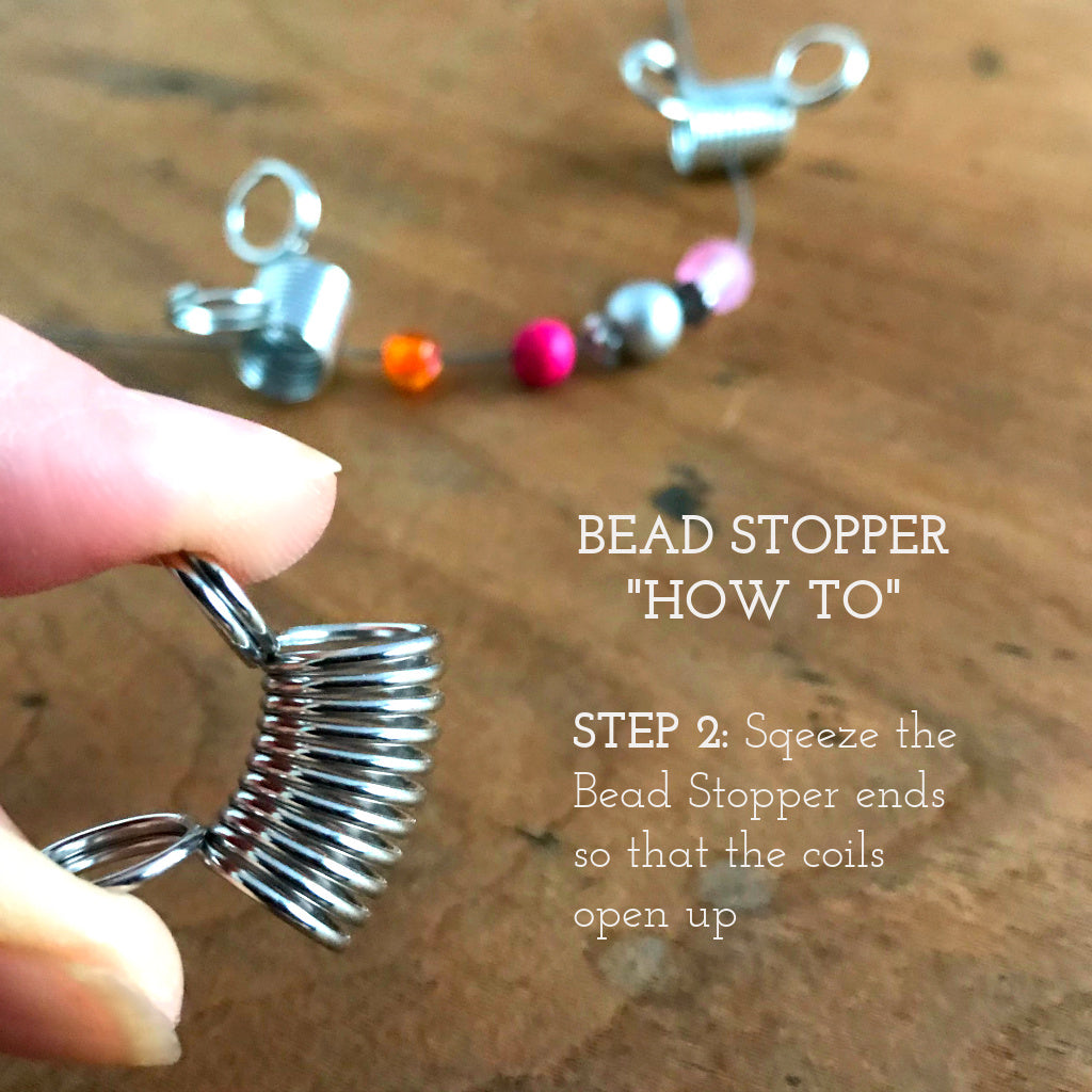 Suzie from Suzie Q Studio shows you here how to use her Bead Stoppers.