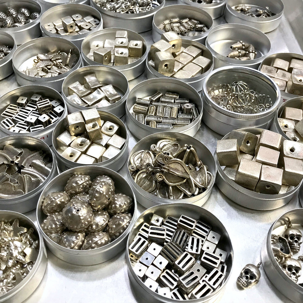 "Suzie Q Studio's 50% OFF Sterling Silver sale is being extended until the closure of our ""physical store"" on Sunday, July 28, 2019 at 5pm. That means ​Suzie's unique and fabulous Sterling Silver jewelry-making beads, components and findings​ ​will be available on SALE at 50% OFF. Come early for the best selection!​"