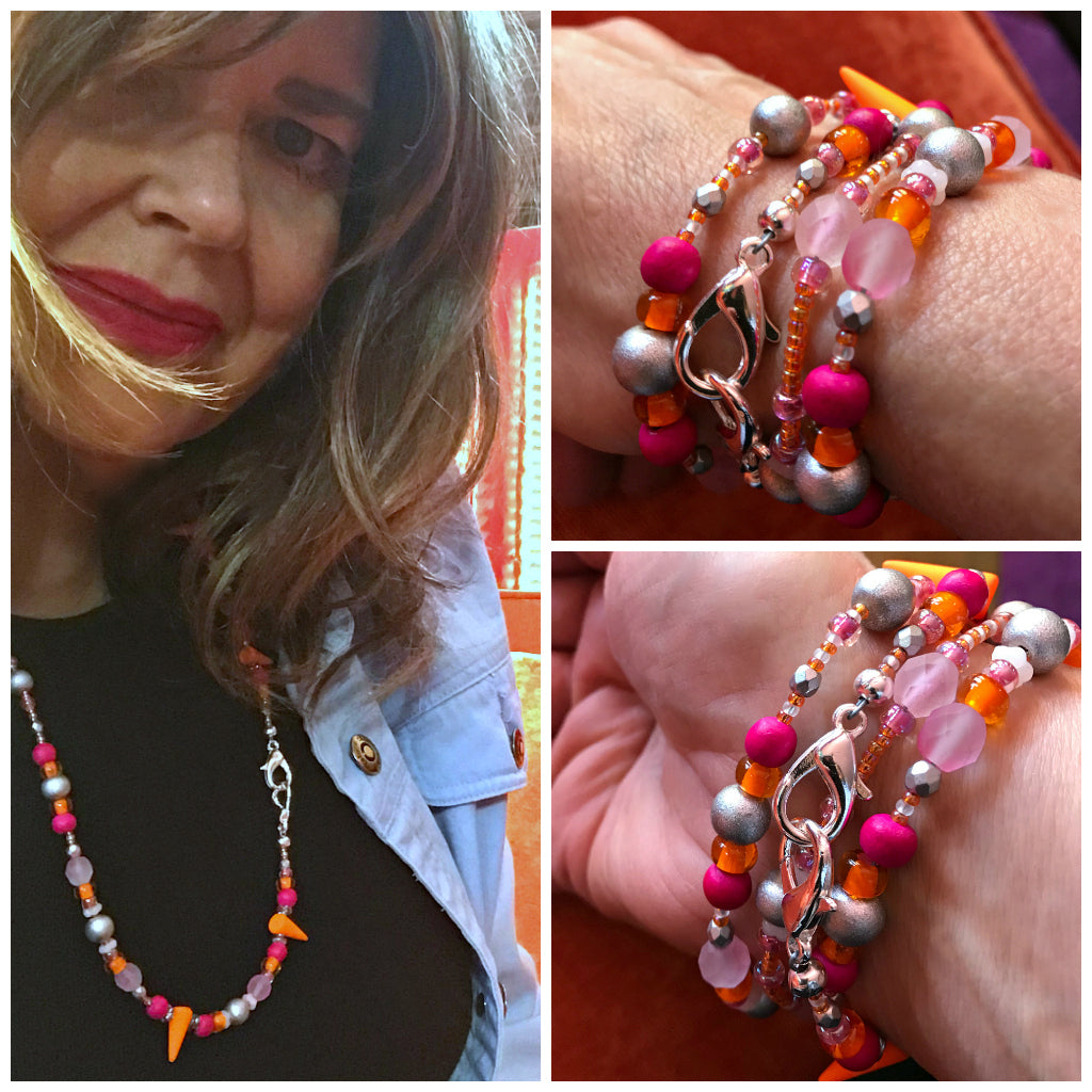 Now you can also make a COVID-19 mask chain with Suzie Q Studio's BEAD STEW DIY Jewelry kits!