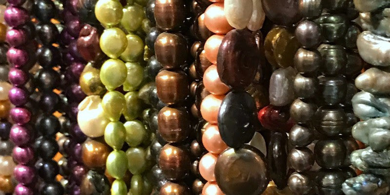 Fresh Water Pearls 50% OFF -- Suzie Q's Sweet Sixteen Birthday Sale ends Sept 16/18! Drop by Suzie Q Studio at the Calgary Crossroads Market to stock up on all your bead supplies.