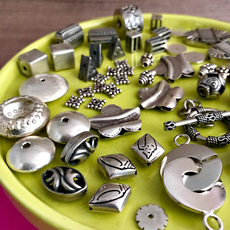 "​Suzie Q Studio's 50% OFF Sterling Silver sale is being extended until the closure of our ""physical store"" on Sunday, July 28ty at 5pm. That means ​Suzie's unique and fabulous Sterling Silver jewelry-making beads, components and findings​ ​will be available on SALE at 50% OFF​. Come early for the best selection!​"