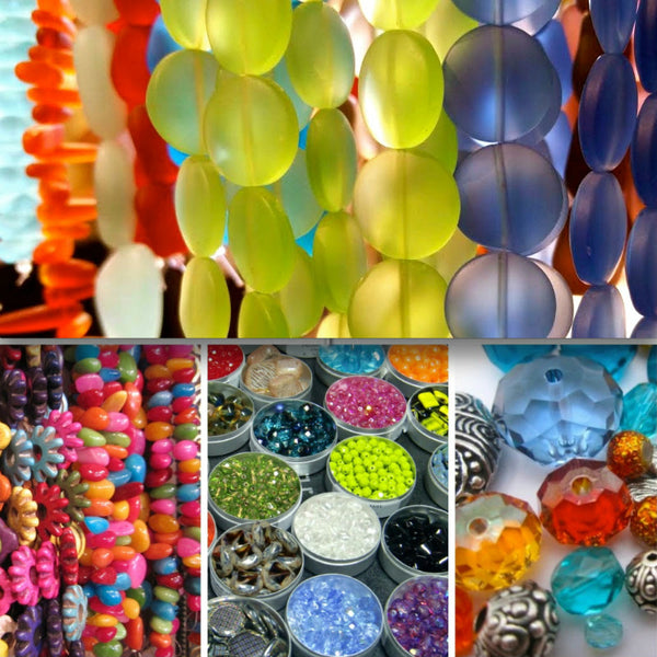 "ALL GLASS Strands and ""Loose"" Beads... ••• 50% OFF!!! •••"