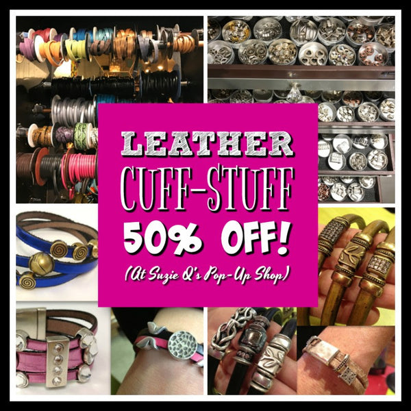 Leather Cuff-Stuff 50% Off