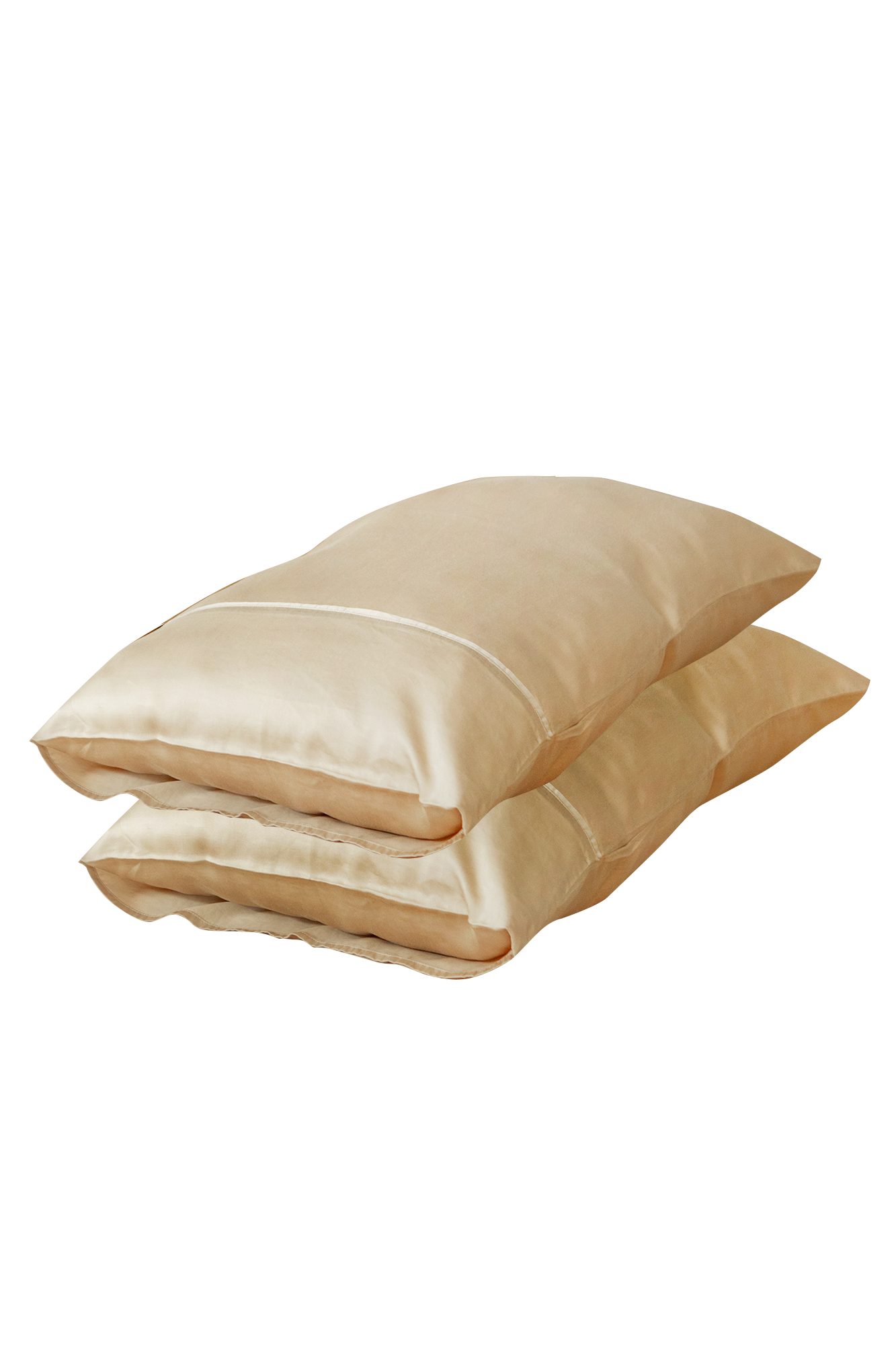 tencel™lyocell pillowcase set in kohi