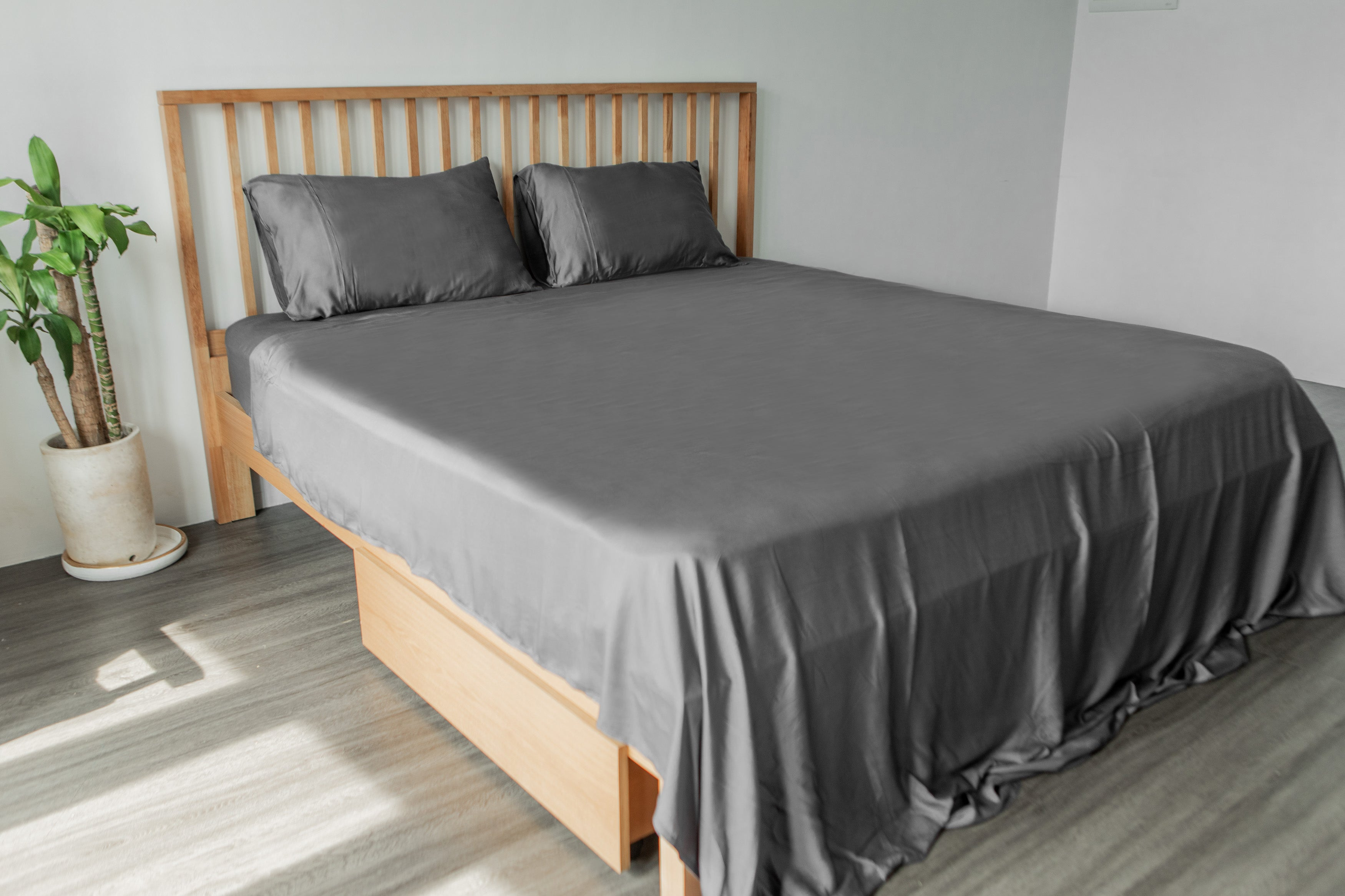 bamboo lyocell complete comfort set in slate