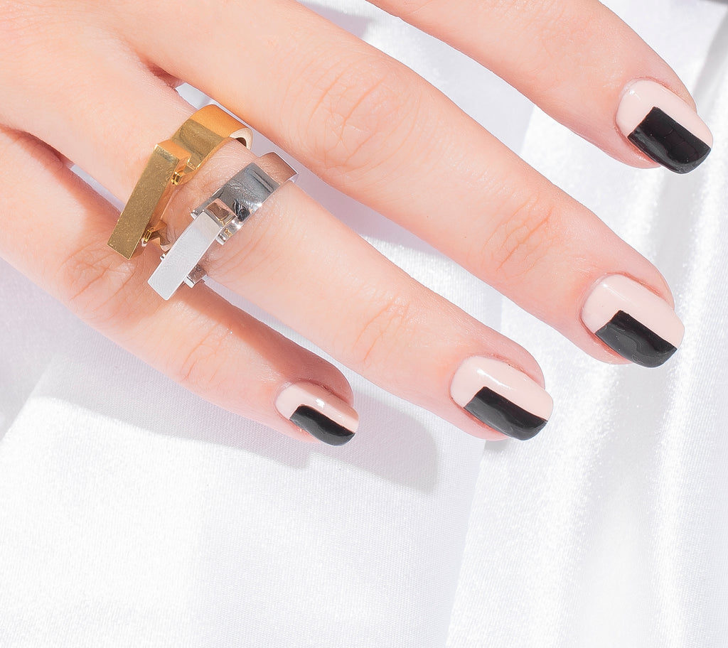 ESSNTL RING RING || Bolted Silver