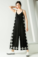 embroided jumpsuit