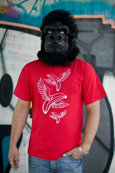 Flying Bananas - Red - Limited Edition
