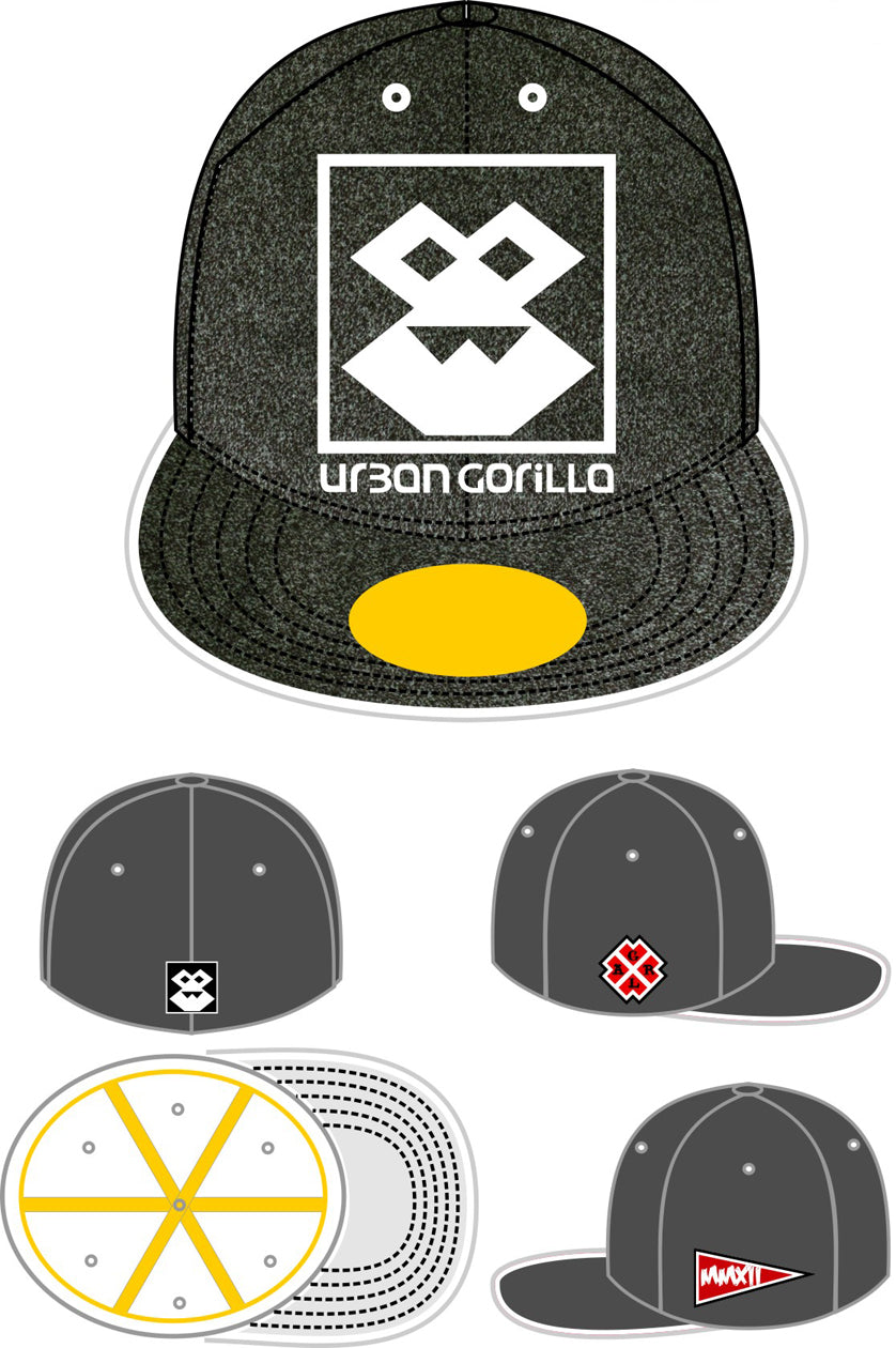 Prototype Cap Collectors Item - Logo - Grey